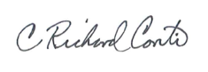 Richard Conti's signature