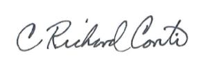 Richard Conti's signature